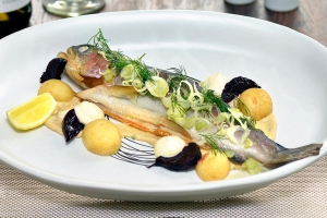 Signature Dish: Whole Smoked Trout